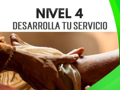 NIVEL 4 – Desarrolla tu Servicio